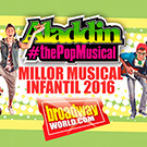 'Aladdin, the Pop Musical', un musical que no us podeu perdre!
