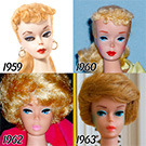 56 anys d'evoluci� Barbie