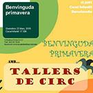 Benvinguda Primavera amb Tallers de Circ al Casal Infantil de la Barceloneta