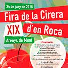 XIX Fira de la cirera d'en Roca a Arenys de Munt, el Maresme